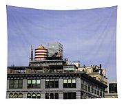 Water Tower View Tapestry