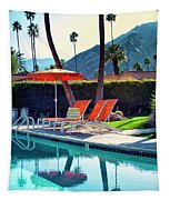 Water Waiting Palm Springs Tapestry