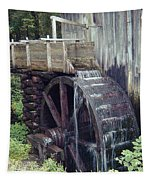Water Wheel Tapestry