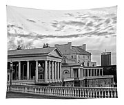 Water Works In Black And White Tapestry