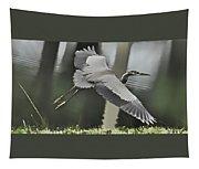 Waterbird Flying Tapestry