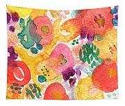 Watercolor Garden Tapestry