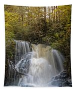 Waterfall After The Rain Tapestry
