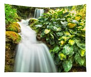 Waterfall In The Hosta Tapestry