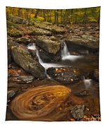 Waterfalls And Swirl Tapestry