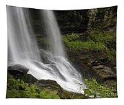 Waterfalls At Base Tapestry