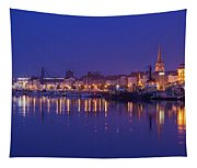 Waterford Skyline Along River Suir Tapestry