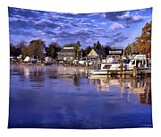 Waterfront Morning Tapestry