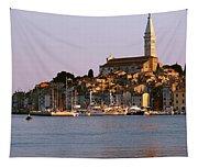 Waterfront, Rovinj, Croatia Tapestry