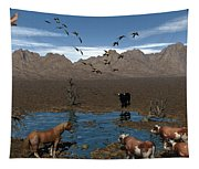 Watering Hole  Tapestry