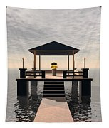 Waterside Gazebo Tapestry