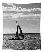 Waterway Bw Tapestry