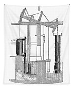 Watts Steam Engine, 1769 Tapestry