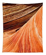 Wave Lines Tapestry