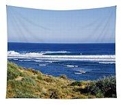 Waves Breaking On The Beach, Western Tapestry