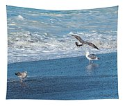 Waves In The Pacific Ocean, Point Reyes Tapestry