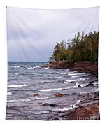 Waves Of Lake Superior Tapestry