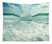 Waves Of Reflection Tapestry