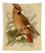 Waxwing Tapestry