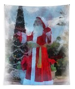 Wdw Santa Photo Art Tapestry