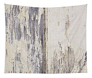 Weathered Paint On Wood Tapestry