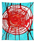 Web Of Life Original Painting Tapestry