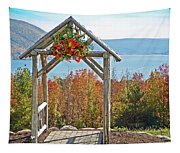 Wedding Gazebo Tapestry