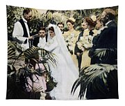 Wedding Party, 1900 Tapestry