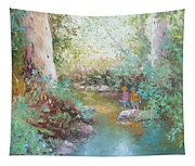 Weekends At The Creek Tapestry