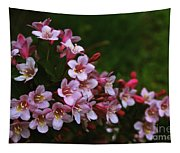 Weigela Branch Tapestry