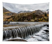 Weir At Ogwen Tapestry