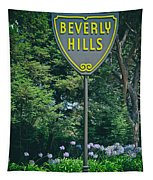 Welcome To Beverly Hills Tapestry