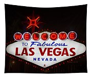 Welcome To Fabulous Las Vegas Tapestry