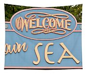 Welcome To Seaside Tapestry