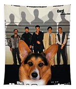 Welsh Corgi Pembroke Art Canvas Print - The Usual Suspects Movie Poster Tapestry