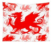 Welsh Dragon Tapestry