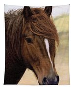 Welsh Pony Painting Tapestry