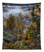 Wenatchee River From Dryden Road Tapestry