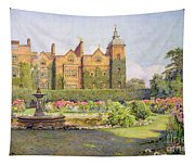 West Front And Gardens Of Hatfield Tapestry