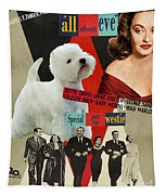 West Highland White Terrier Art Canvas Print - All About Eve Movie Poster Tapestry