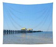 West Side Pier Gulfport Mississippi Tapestry