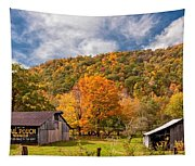 West Virginia Barns  Tapestry