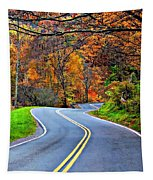 West Virginia Curves 2 Tapestry