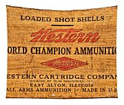 Western Ammunition Box Tapestry