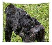 Western Lowland Gorilla 1 Tapestry