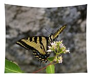 Western Tiger Swallowtail Butterfly 2 Tapestry