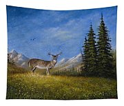 Western Whitetail Tapestry