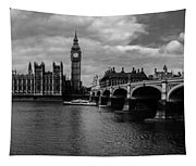 Westminster Pano Bw Tapestry