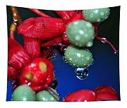 Wet Berries Tapestry