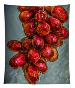 Wet Grapes Four Tapestry
